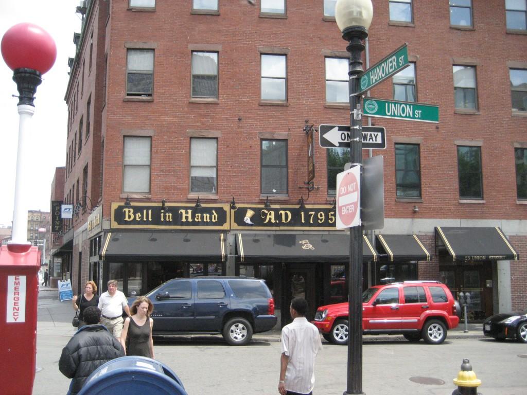 Bell in Hand Tavern in Boston